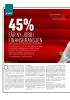45% FÅR NY JOBB I FINANSBRANSJEN