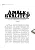 Å MÅLE KVALITET