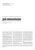 Abortskrin, prevensjon og aktivisme på museum