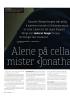 Alene på cella mister «Jonathan» (19) språket