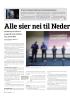 Alle sier nei til Nederland
