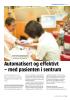 Automatisert og effektivt - med pasienten i sentrum
