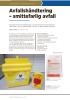 Avfallshåndtering - smittefarlig avfall