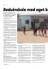 Beduinskole med eget b omberom