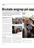 Brutale angrep på oppoosisjonen foran valget