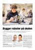 Bygger roboter på skolen