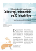 Celleterapi, telemedisin og 3D bioprinting