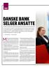 DANSKE BANK SELGER ANSATTE