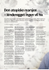 Den atopiske marsjen - kinderegget ingen vil ha