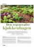Den regenerative kjøkkenhagen