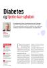 Diabetes og hjerte-kar-sykdom