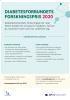 DIABETESFORBUNDETS FORSKNINGSPRIS 2020