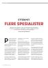 ETTERLYST: FLERE SPESIALISTER