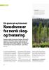 EUs grønne giv og taksonomi: Konsekvenser for norsk skogog trenæring