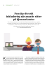 Fem tips for økt inkludering når ansatte sitter på hjemmekontor