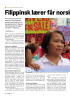 Filippinsk lærer får norsk pris