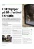 Folkehjelper på filmfestival i Kroatia