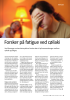 Forsker på fatigue ved cøliaki