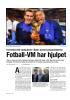 Fotball-VM har hjulpet