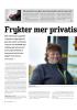 Frykter mer privatisering av Vegvesenet