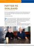 FØTTER PÅ SVALBARD