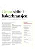 Grønt skifte i bakerbransjen