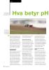 Hva betyr pH for engavling
