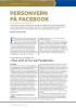 «Hva som er lov på Facebook»