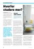 Hvorfor studere mer?