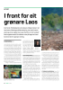 I front for eit grønare Laos