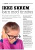 IKKE SKREM barn med tinnitus