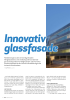 Innovativ glassfasade