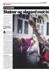 KASHMIR: Steiner og slagord mot indisk blyhagl og blokade