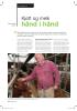 Kjøtt og melk hånd i hånd