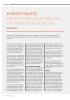 KLINISK KVALITET: ER DET FORSKJELLER MELLOM OPTIKERE I NORD-EUROPA?