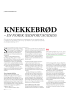 KNEKKEBRØD - EN NORSK (EKSPORT)SUKSESS
