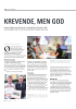 KREVENDE, MEN GOD