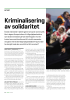 Kriminalisering av solidaritet