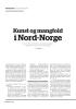 Kunst og mangfold i Nord-Norge