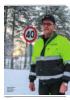 Leif Sturla har brøyta riksveg 3 i 40 år