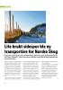 Lite brukt sidespor ble ny transportåre for Norske Skog