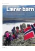 Lærer barn fjellklatring
