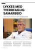 LYKKES MED TVERRFAGLIG SAMARBEID