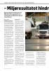 - Miljøresultatet hindr er tariffhopping