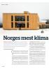 Norges mest klima vennlige bygg