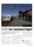 NRK tar sommertoget