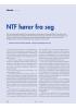 NTF hører fra seg