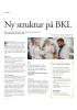 Ny struktur på BKL