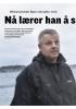 O shorearbeider Bjørn uten jobb i ett år: Nå lærer han å skrive søknader
