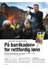 På barrikadene for rettferdig lønn